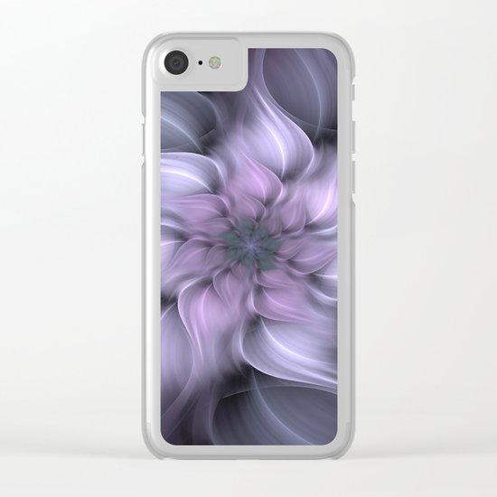 Fractal 4 design Clear iPhone Case