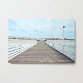 Beach Pier San Diego California Metal Print
