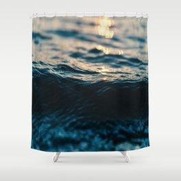 Light Reflection Shower Curtain