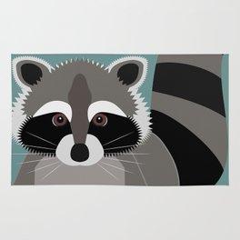 Raccoon Rascal Rug