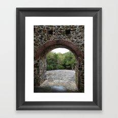Virgin Islands, Sugar Mill Stone Ruins, St. John, USVI Framed Art Print