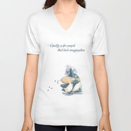 Little Totoros Unisex V-Neck