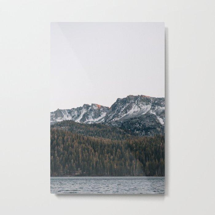 Last light in the Sierra Metal Print