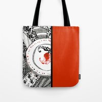 ukraine Tote Bags featuring Mood of Ukraine by rusanovska