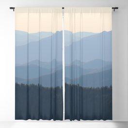 Blue Ridge Mountains Blackout Curtain