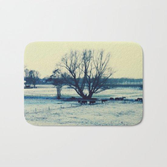 Winter  - JUSTART © Bath Mat