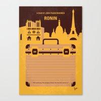 No801 My RONIN minimal movie poster Canvas Print