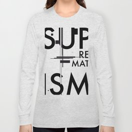 History of Art in Black and White. Suprematism Long Sleeve T-shirt