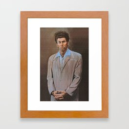 The Kramer quote Framed Art Print