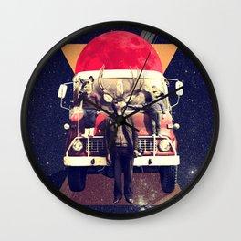 El Camion Wall Clock