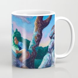 Woodcutters at Chilmark by Thomas Hart Benton Coffee Mug