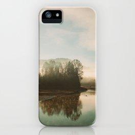 Calm Lake iPhone Case