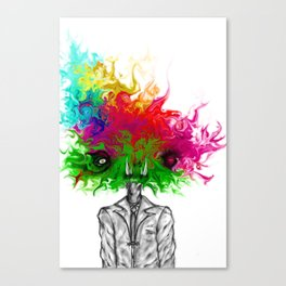 """Saturated Sally"" Canvas Print"