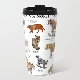 Wildcats of North America Travel Mug