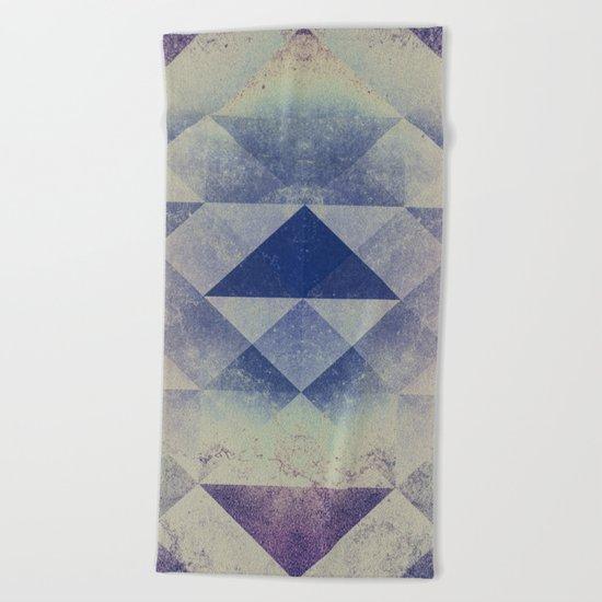 Triangles XXVIII Beach Towel
