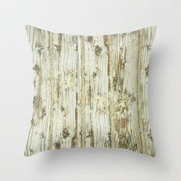 Wooden Plank Throw Pillow