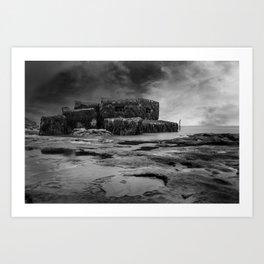 War Bunker Art Print