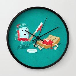 Snack Attack Wall Clock