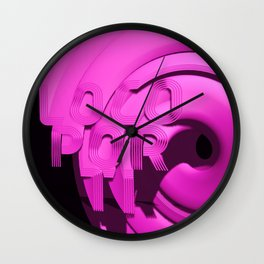 loco por ti Wall Clock