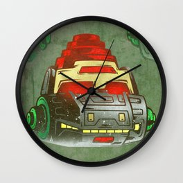 Metalhead Wall Clock