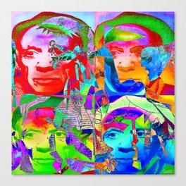 Pop Picasso Canvas Print