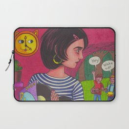 Disco Girl Laptop Sleeve