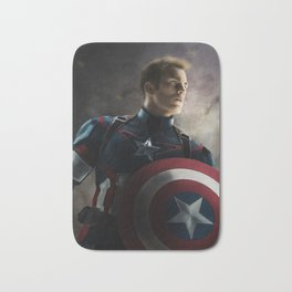 CaptainAmerica Bath Mat