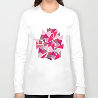 geo Long Sleeve T-shirts featuring Geo by Amy Harlow