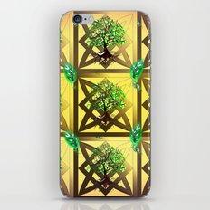 Celtic Tree Pattern iPhone & iPod Skin