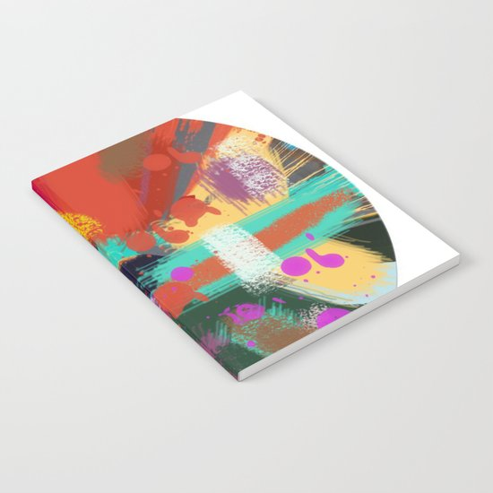 Color clock Notebook