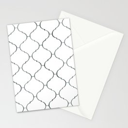 Pencil Ogee Stationery Cards