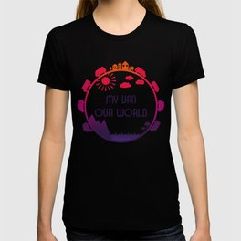My Van Our World - Sunset T-shirt