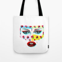 arabic Tote Bags featuring Arabic  by Peonies