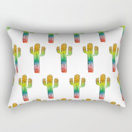 Desert Rainbow II PRIDE PATTERN Rectangular Pillow