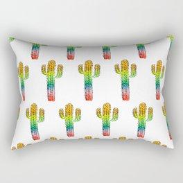 Desert Rainbow II PRIDE PATTERN Rectangular Pillow
