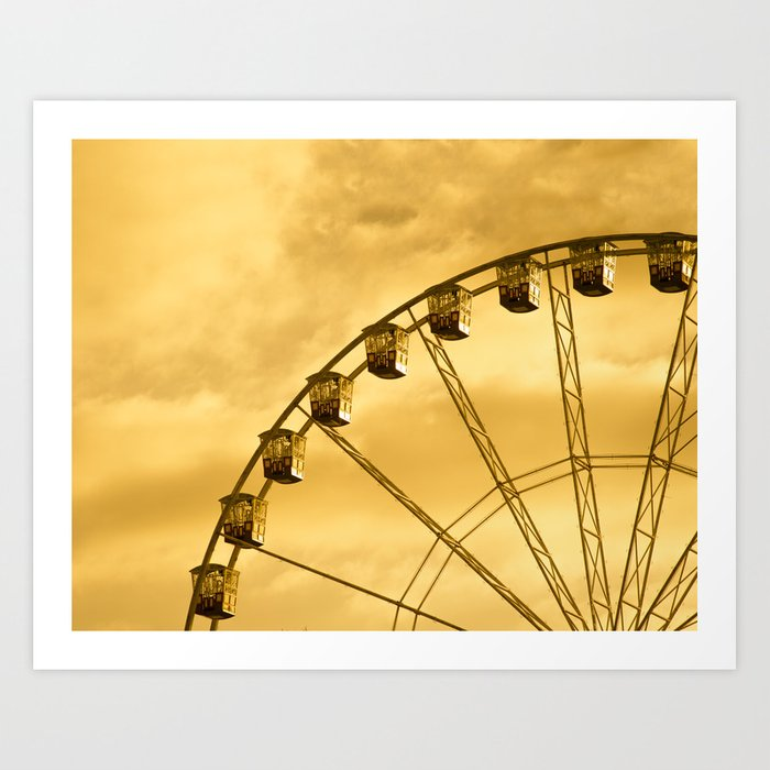 Carnival Is Over Art Print