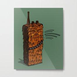Wookiee talkie Metal Print