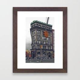 190 Bowery Framed Art Print