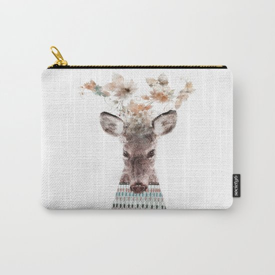 in nature deer Carry-All Pouch