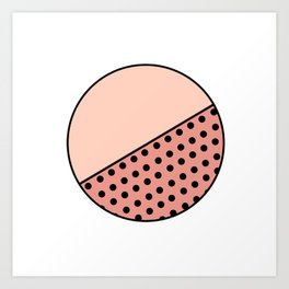 Circulo Art Print