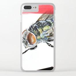 Jack Meridew Clear iPhone Case