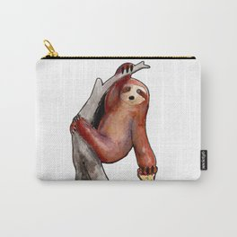 sloth eating a pizza Carry-All Pouch