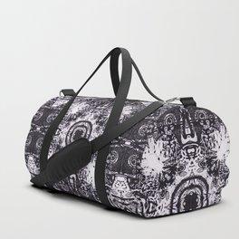 Illustrative Maori Native Kaleidoscope Duffle Bag