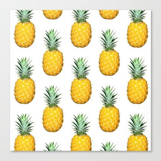 Big Pineapples Canvas Print