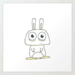 Little Rabbit Art Print