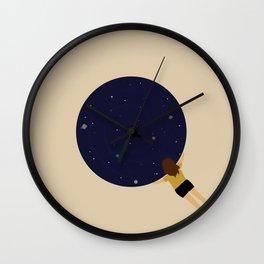 Universe Gazer Wall Clock