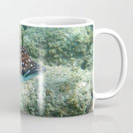 Watercolor Ray, Spotted Eagle Ray 18, St John, USVI Coffee Mug