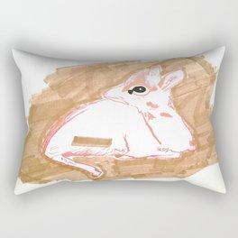 Baby Dik Dik is Sick of the Savannah Rectangular Pillow