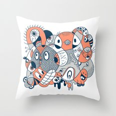 2051 Throw Pillow