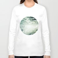 underwater Long Sleeve T-shirts featuring Underwater by Kameron Elisabeth